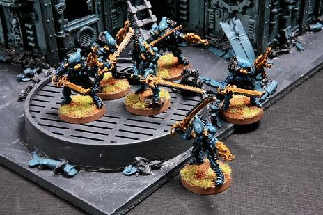 Eldar, Striking Scorpions, Urban, Warhammer 40,000