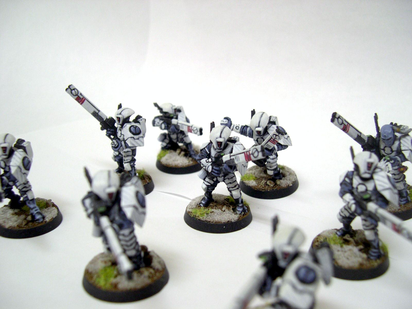 Fire Warriors, Tau, Warhammer 40,000, White