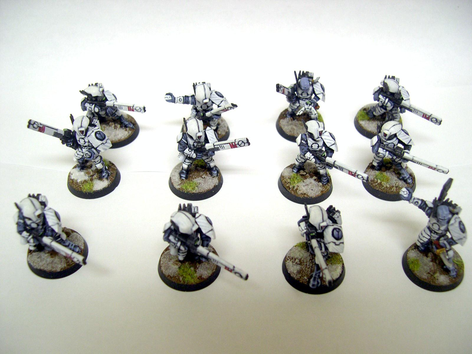 Fire Warriors, Infantry, Tau, Warhammer 40,000