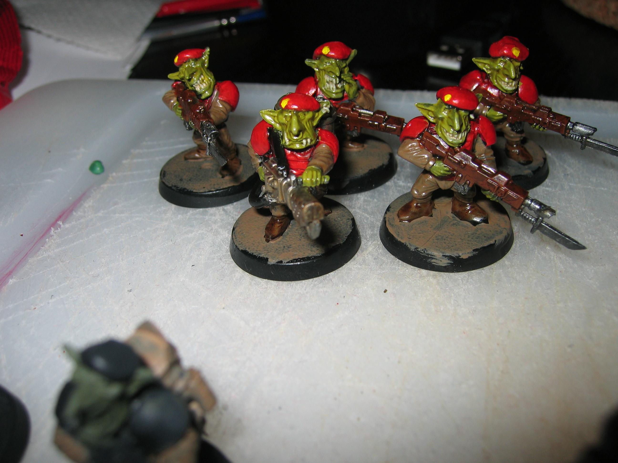 Grots, Imperial Guard