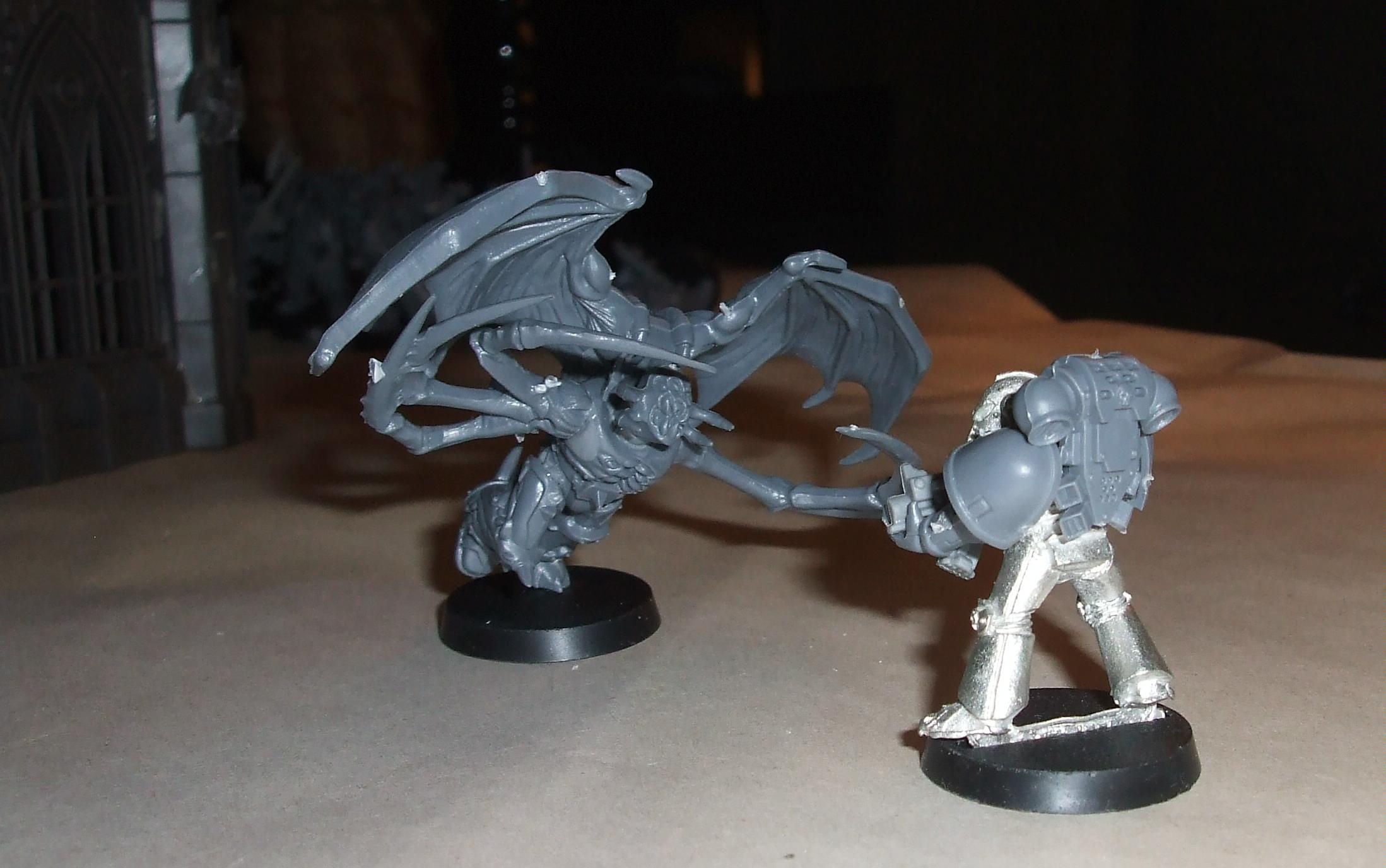 Chaos Space Marines, Possessed, Work In Progress