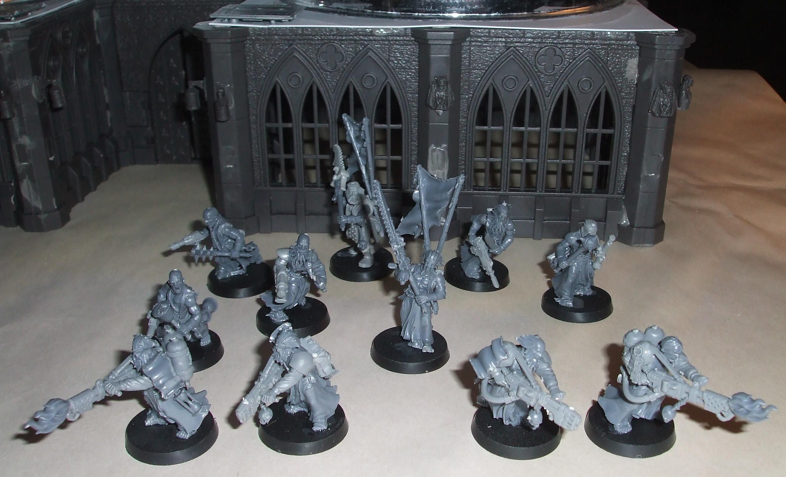 Conversion, Henchmen, Infantry, Inquisitor, Warhammer 40,000, Work In Progress