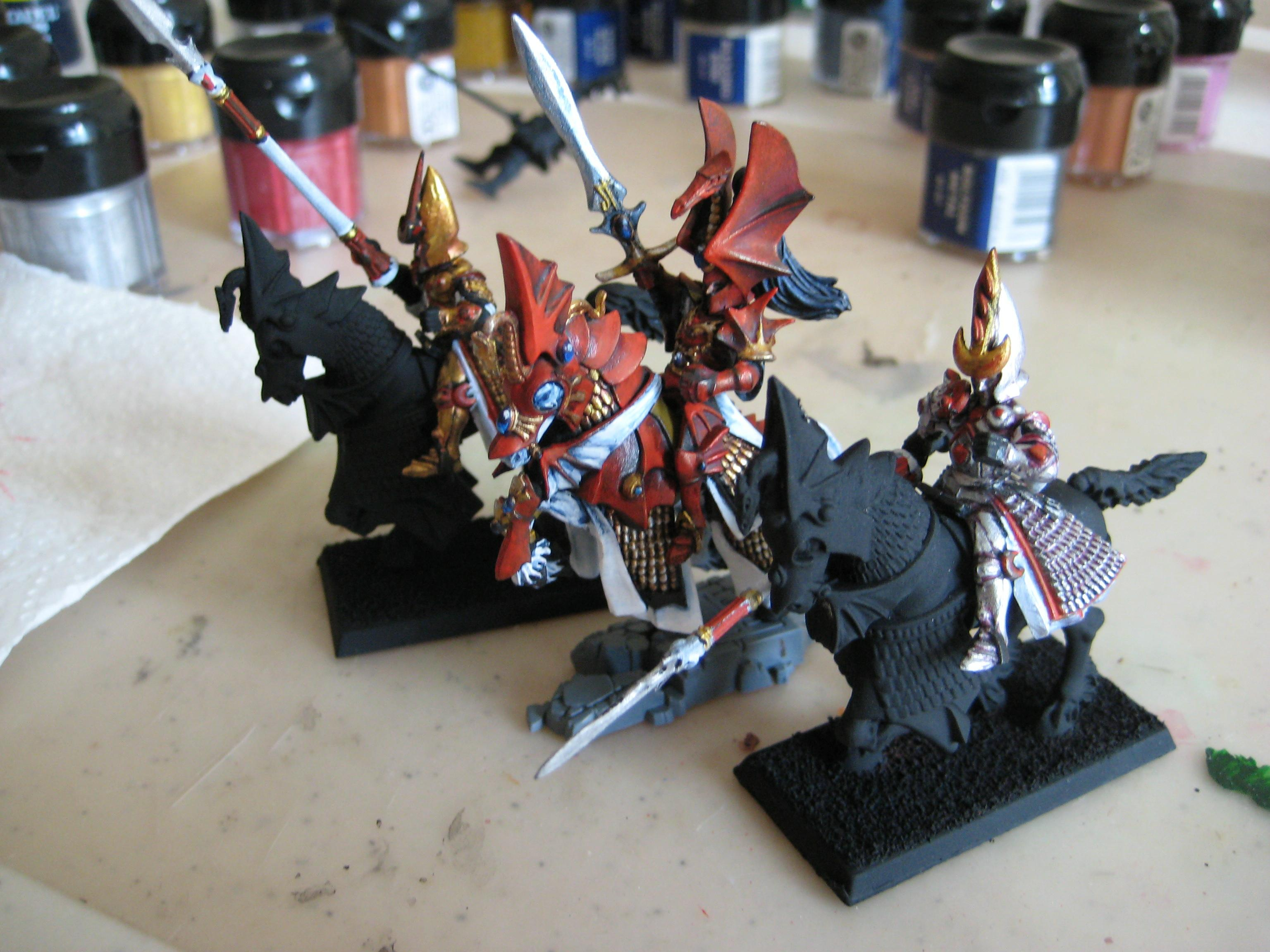 High Elf Prince, High Elves, Warhammer Fantasy, Work In Progress