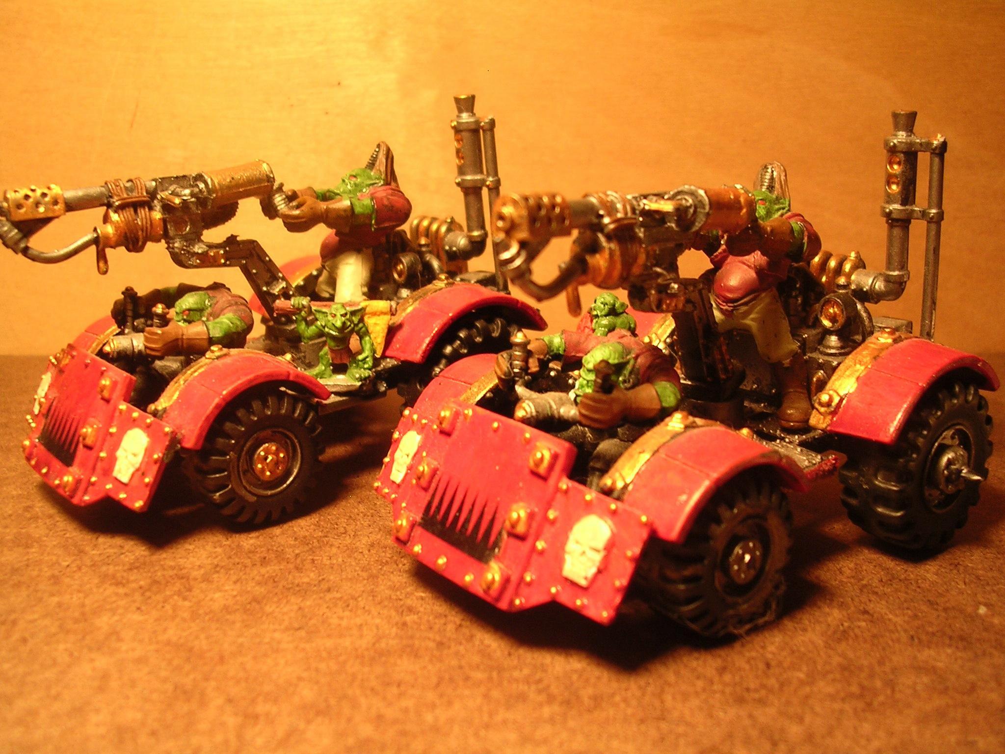 Buggy, Orks, skorchas
