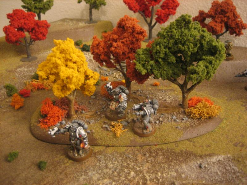 Autumn, Infantry, Space Marines, Terrain, Warhammer 40,000 - Tree