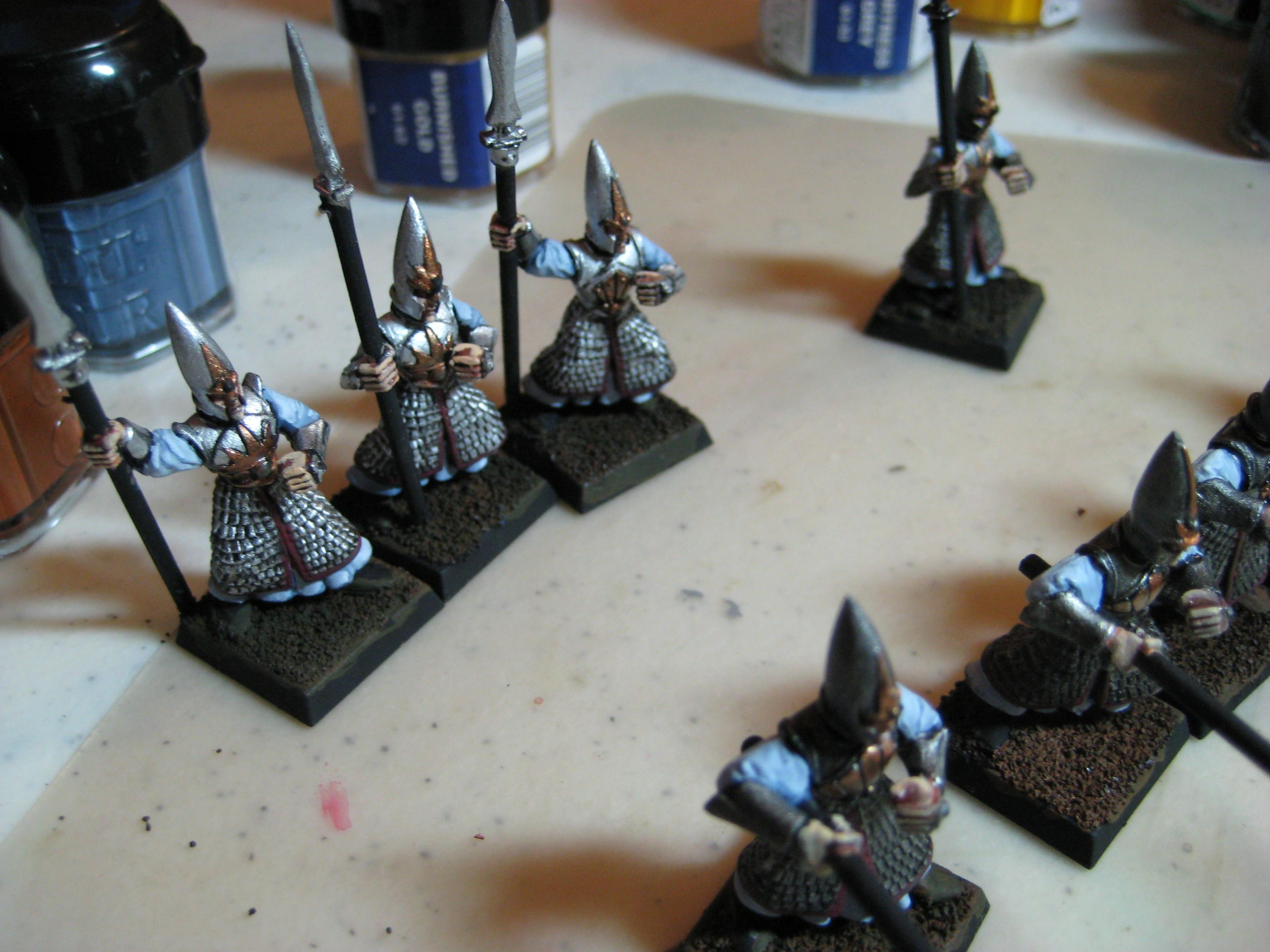 High Elves, Troops, Warhammer Fantasy, Work In Progress