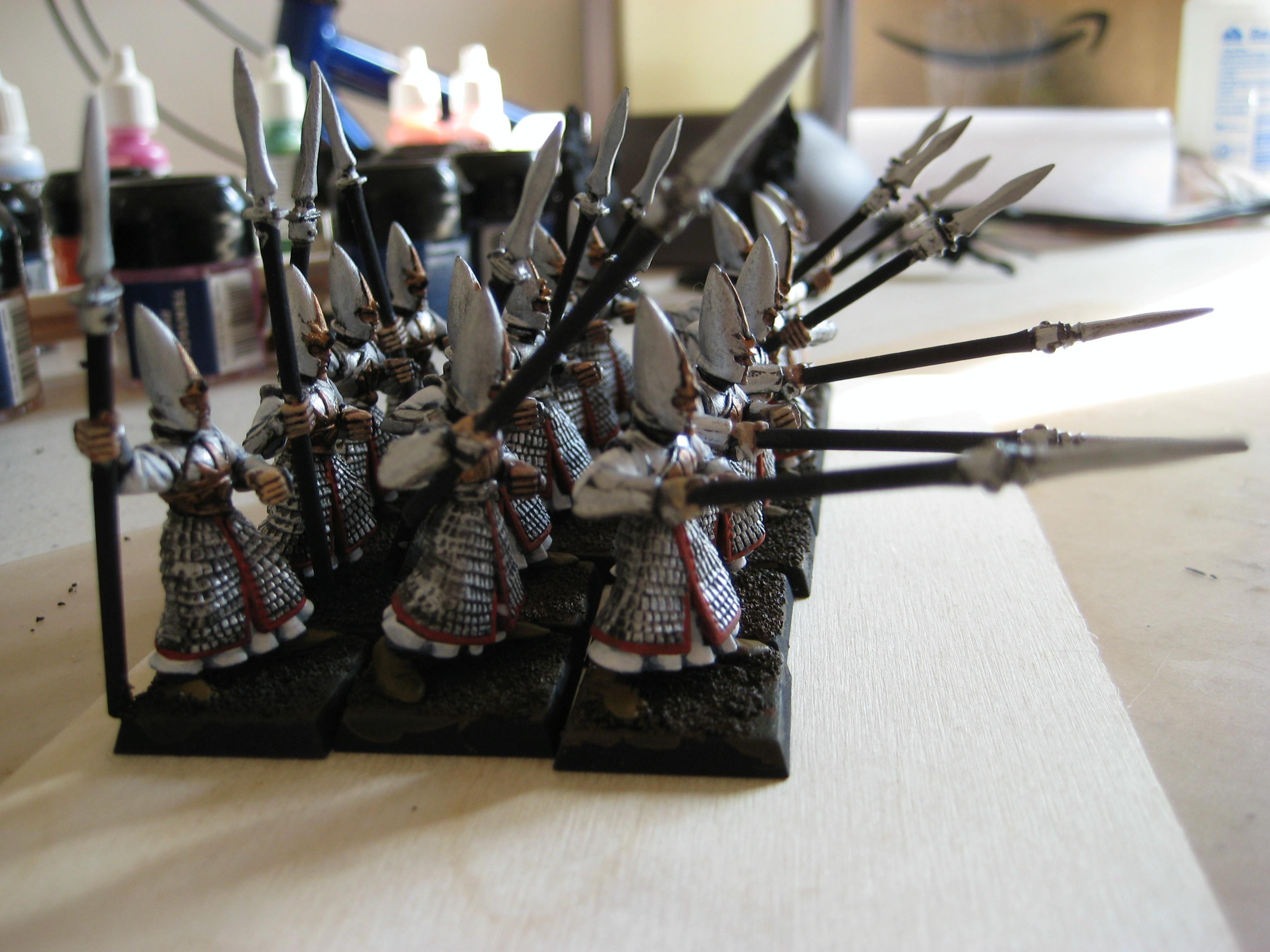 High Elves, Spearelves side