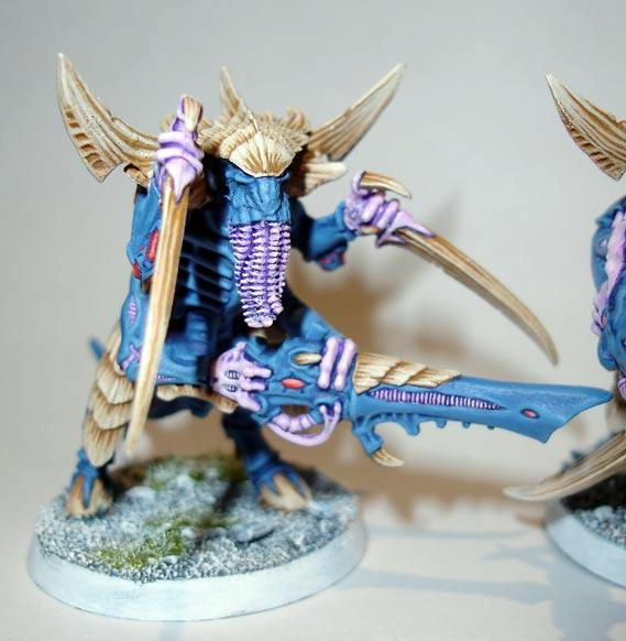 Feeder Tendrils, Tyranids, Warhammer 40,000, Warriors