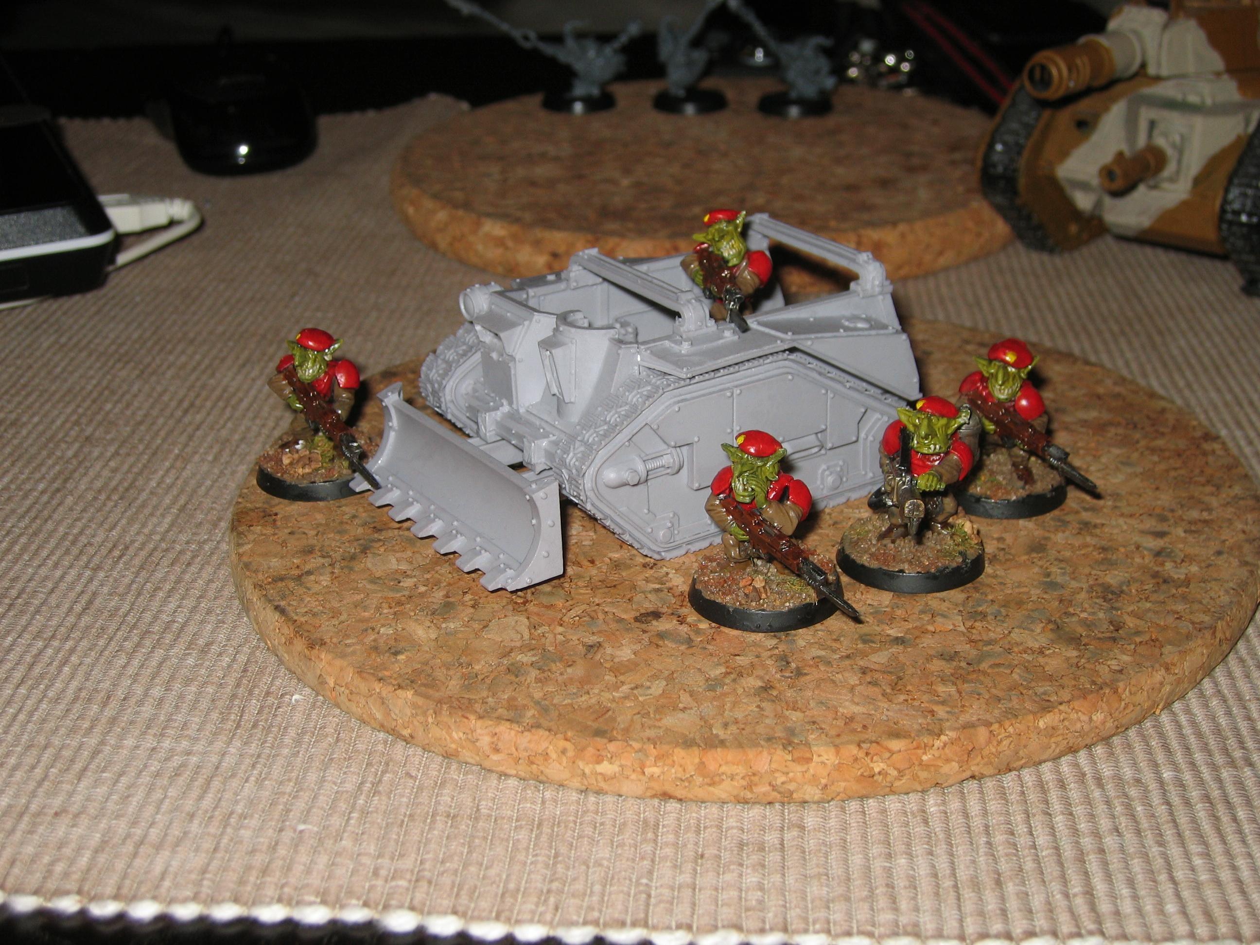 Grots, Work In Progress