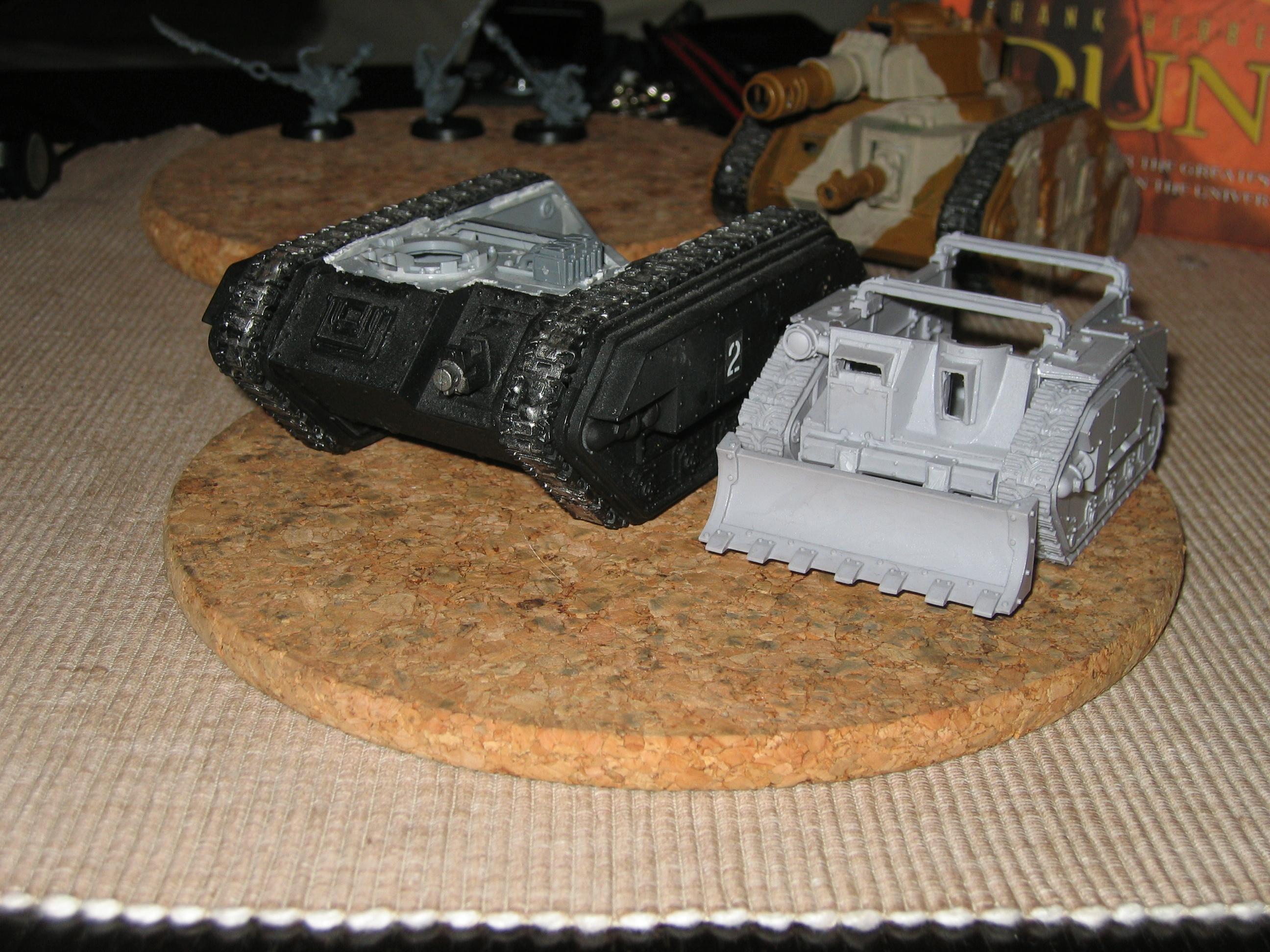 Conversion, Imperial Guard, Tank, Warhammer 40,000, Work In Progress