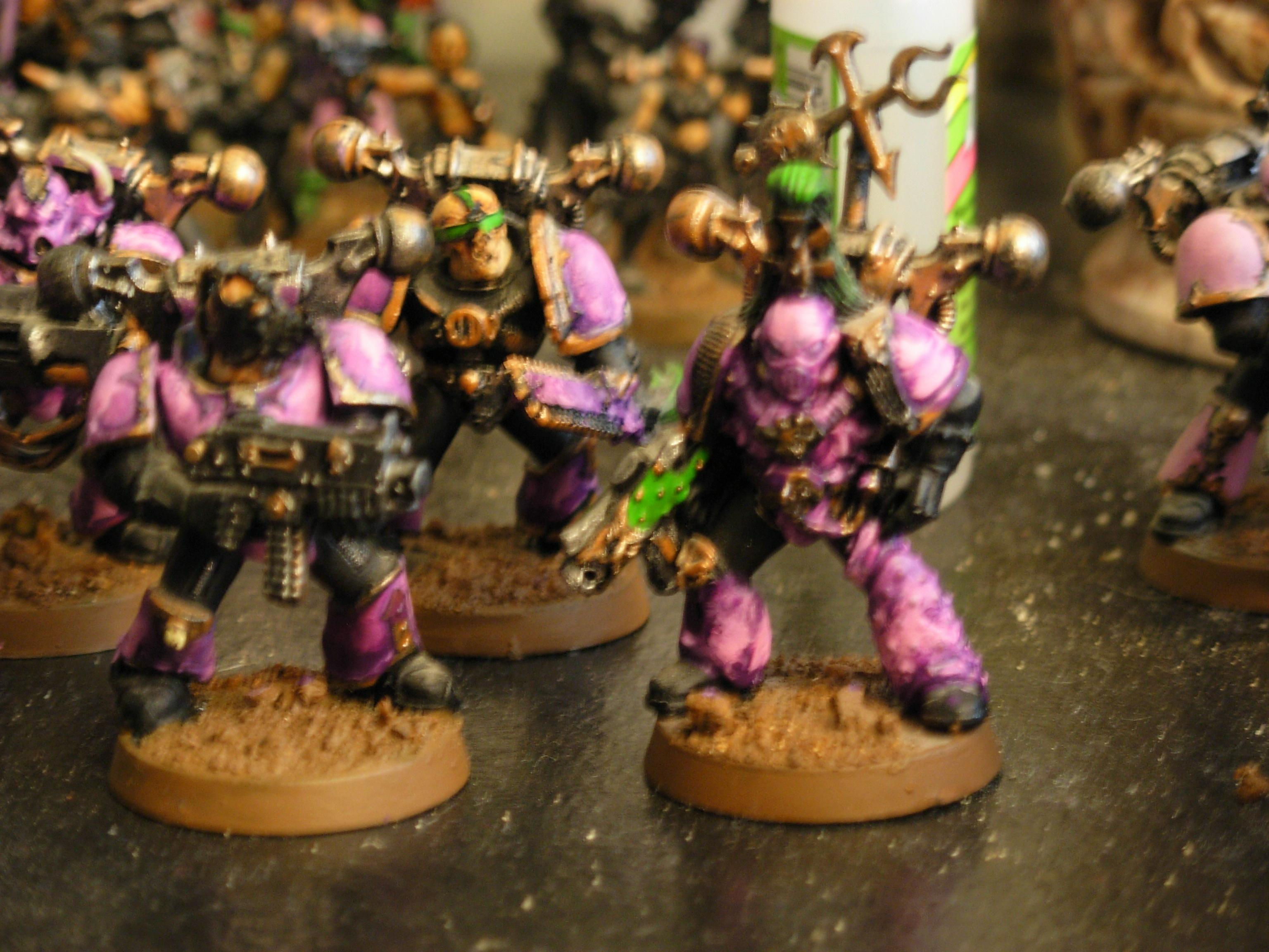 Blurred Photo, Chaos Space Marines, Emperor's Children