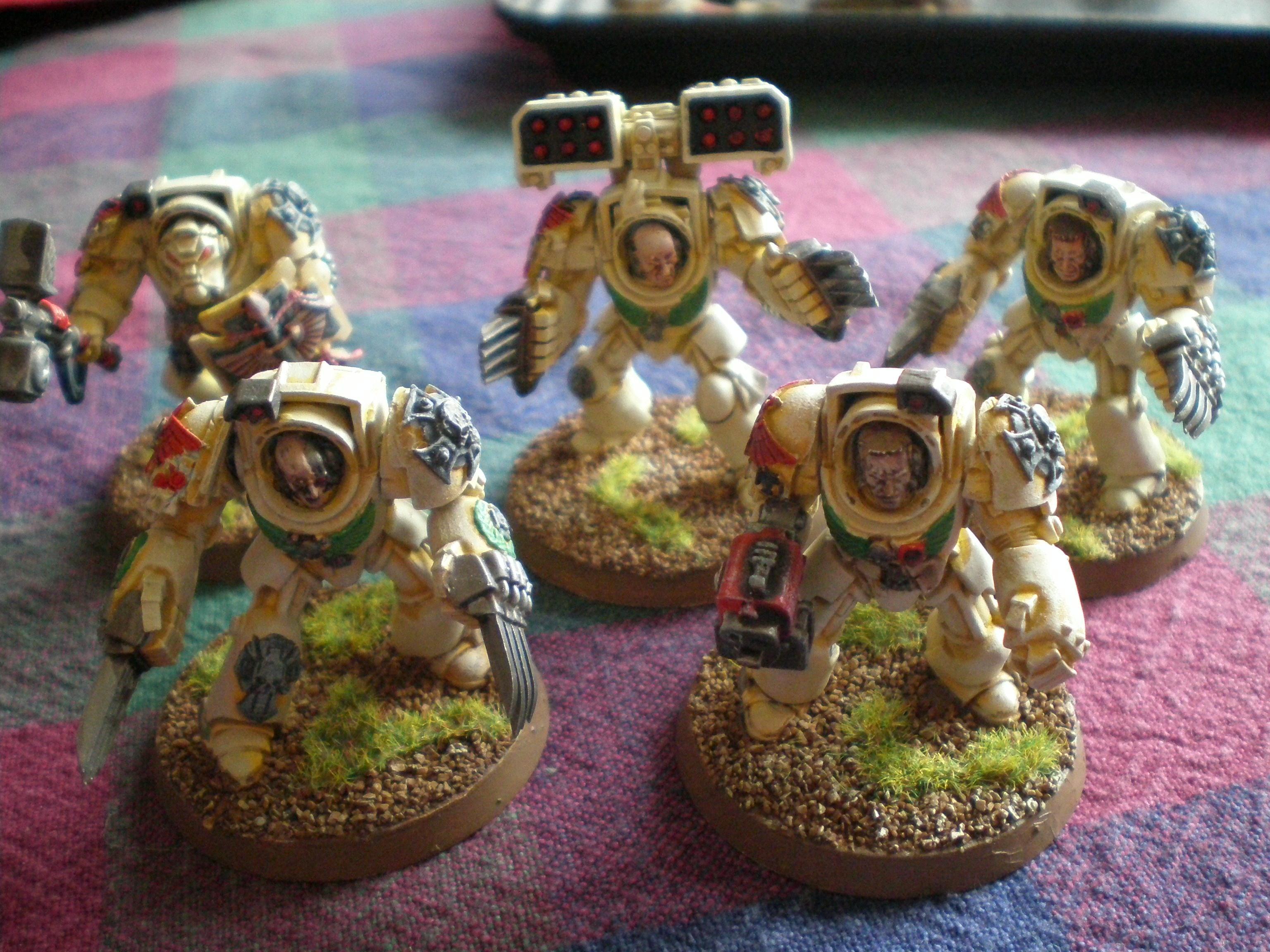Terminator Armor, squad 5