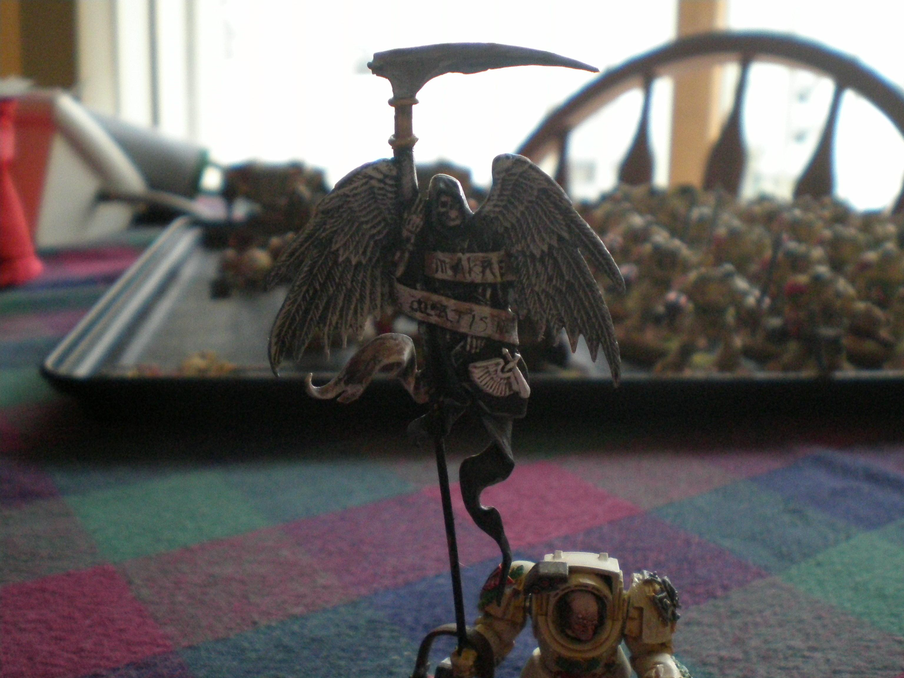 Banner, Dark Angels, Deathwing, Terminator Armor