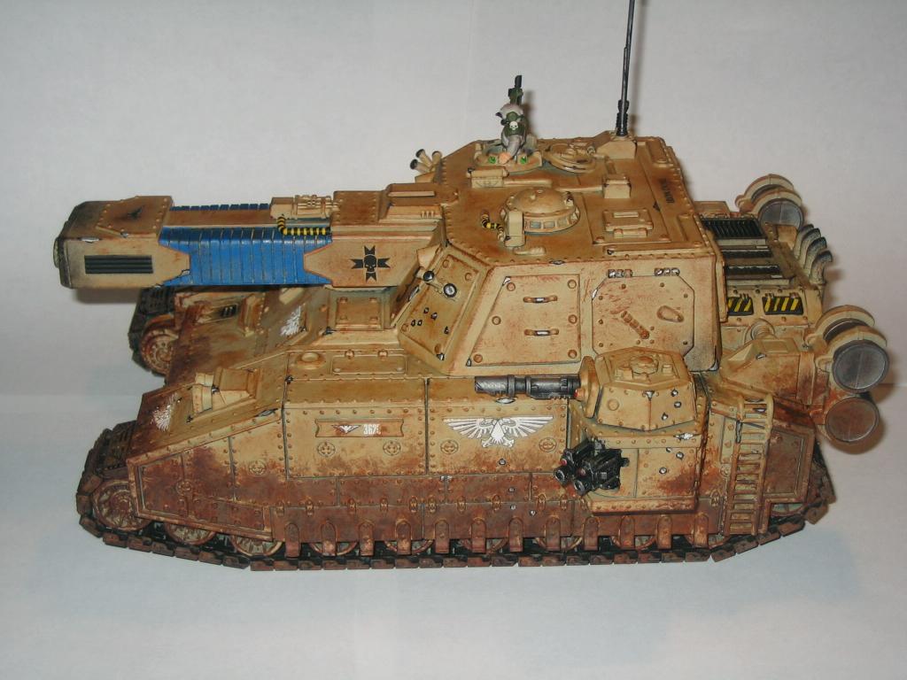 Apocalypse, Conversion, Imperial Guard, Stormblade, Tank, Vehicle, Warhammer 40,000, Wash