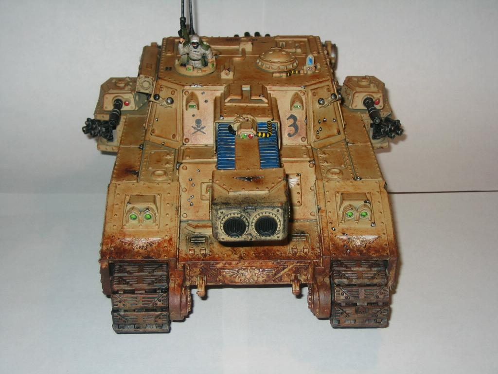 Apocalypse, Conversion, Imperial Guard, Stormblade, Tank, Vehicle, Warhammer 40,000, Wash, Weathered