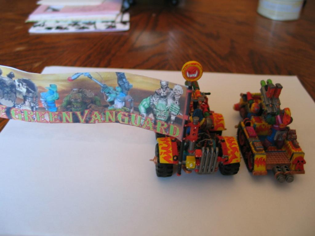 Orks, Warbuggies, Warhammer 40,000