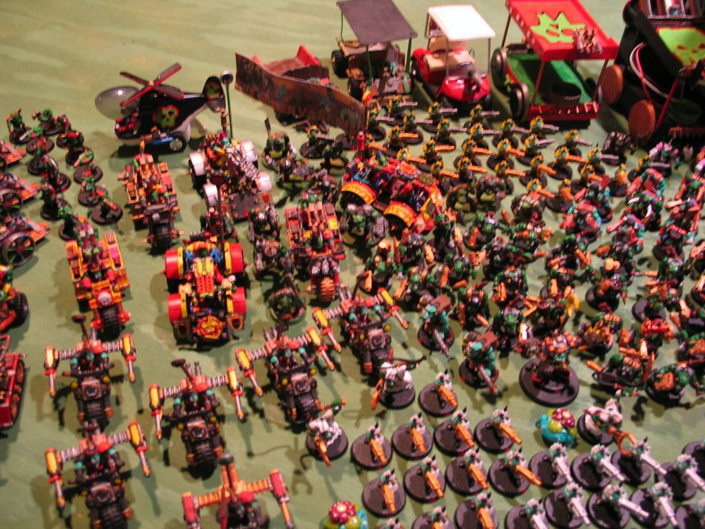 Army, Orks, Waagghh!, Warhammer 40,000