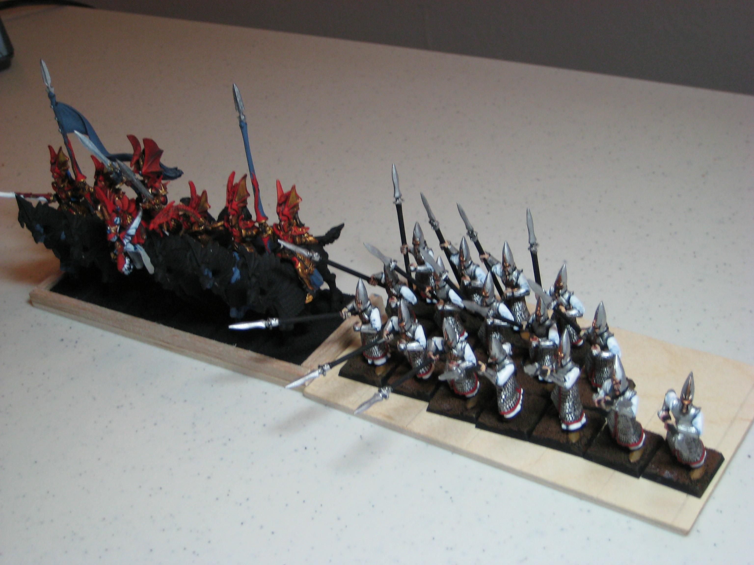 High Elves, Spears and lances