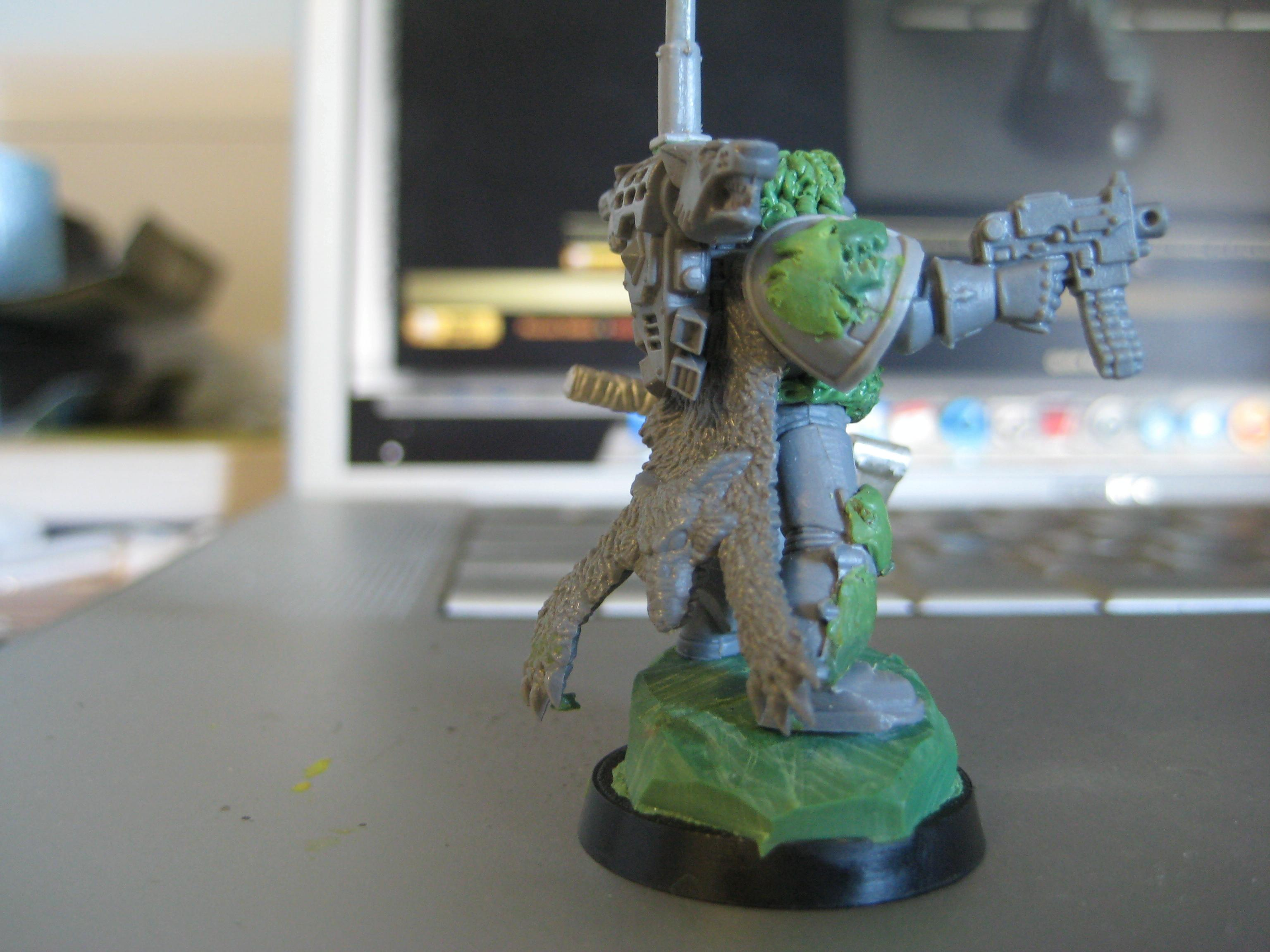 Greenstuff, Space Wolves