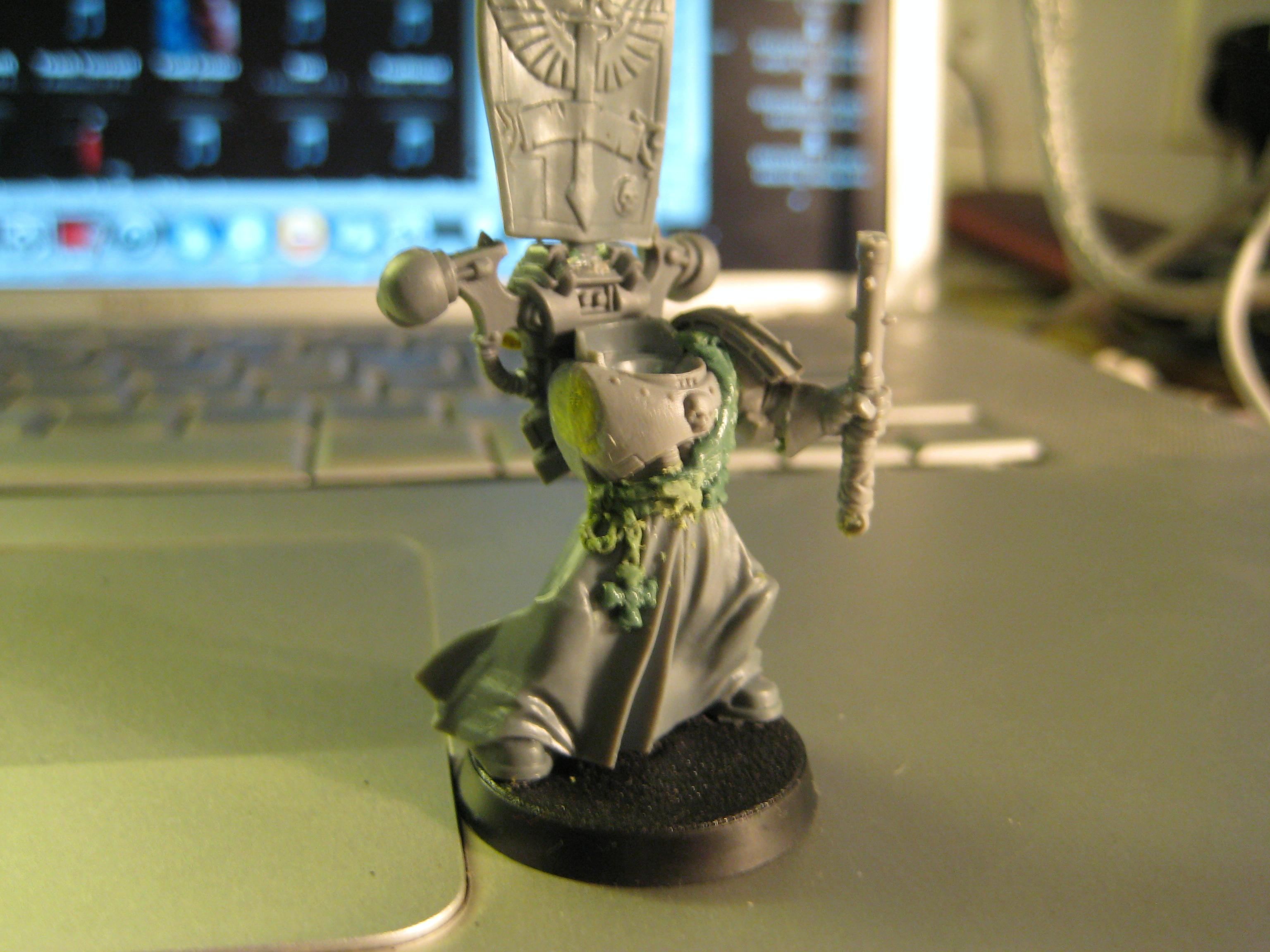 Showing off the detail on what will become the Crozarus Arcanaum(sp?/ even close to the right words?)