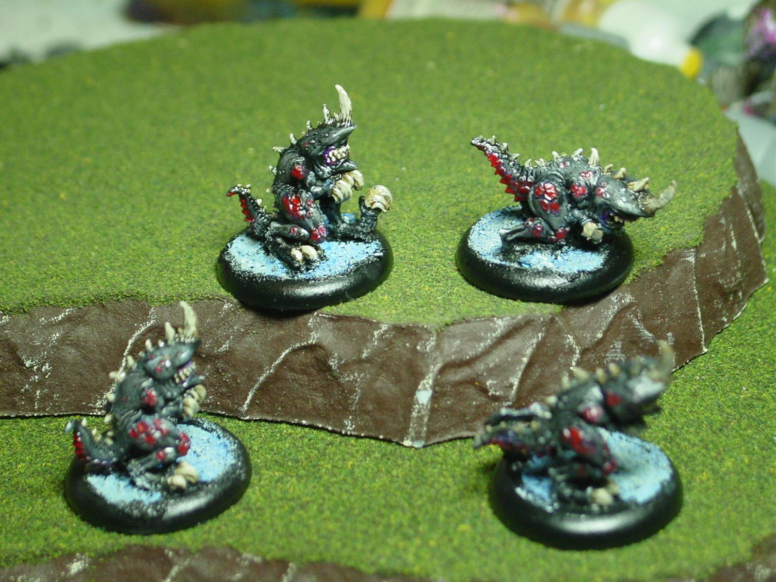 Hordes, Legion Of Everblight, Lesser Warbeast, Privateer Press, Shredder