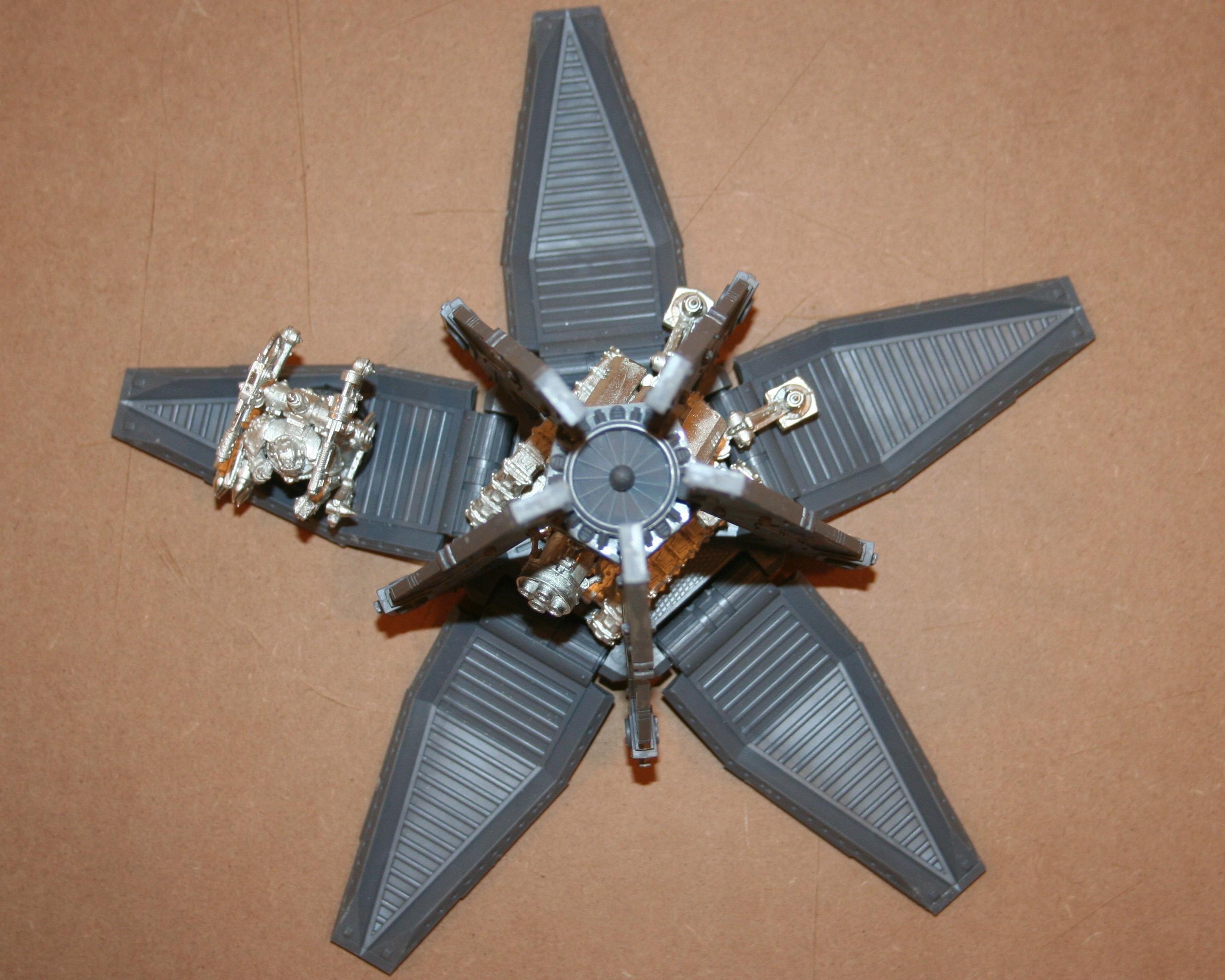 Drop Pod, Space Marines, Thunderfire Cannon