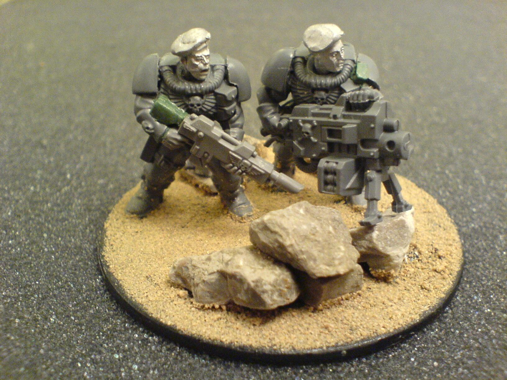 Carapace, Carapace Armour, Conversion, Drop Troops, Imperial Guard, Warhammer 40,000, West Wind, Work In Progress