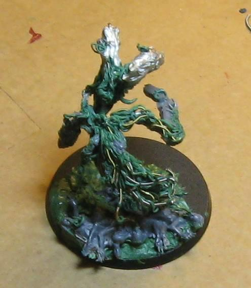 Chaos Daemons, Conversion, Lord Of Change, Warhammer 40,000, Work In Progress