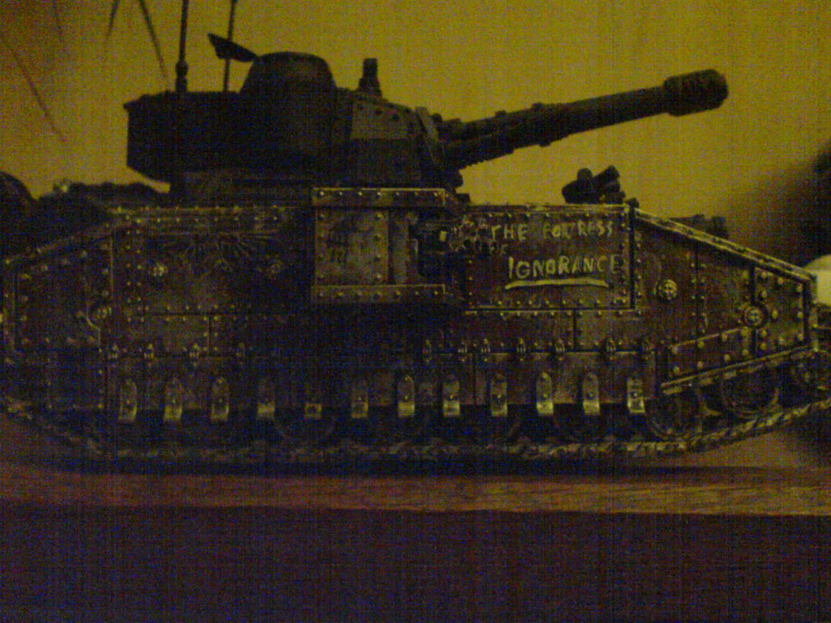 Baneblade, Imperial Guard, Poor Picture Quality, Superheavy Tank