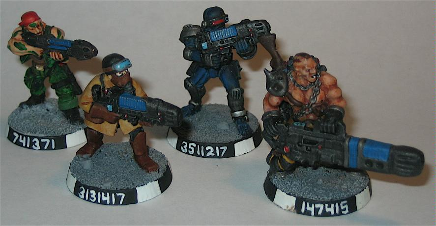 Imperial Guard, Infantry, Last Chancers, Warhammer 40,000