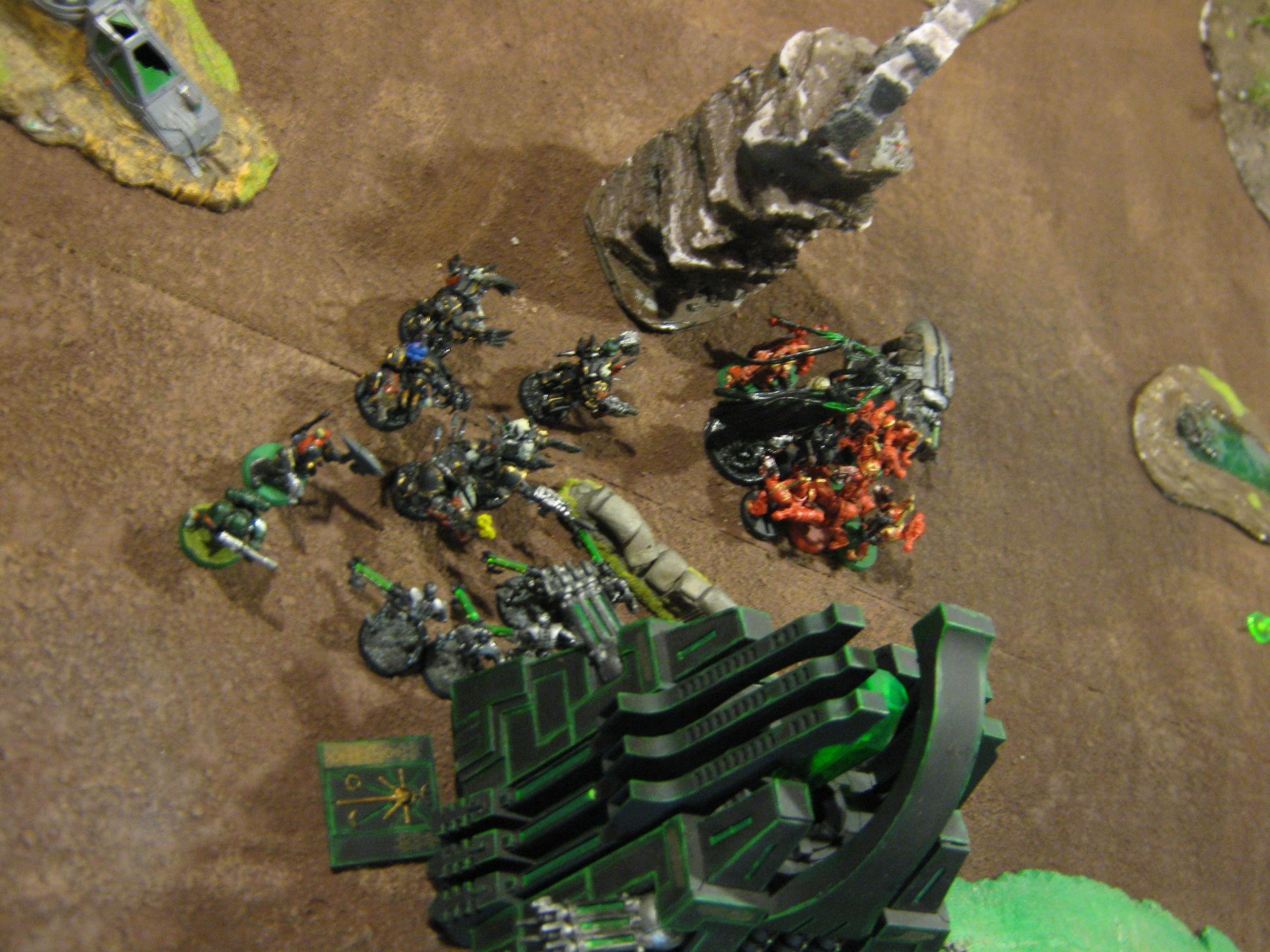 Battle Report, Chaos Space Marines, Necrons, Warhammer 40,000