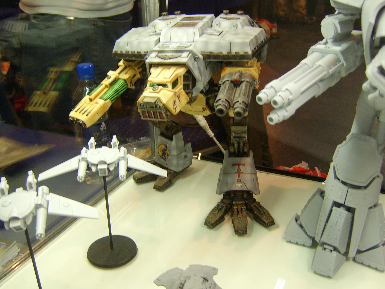 Display, Forge World, Imperial, Titan, Vehicle, Warhammer 40,000, Warhound
