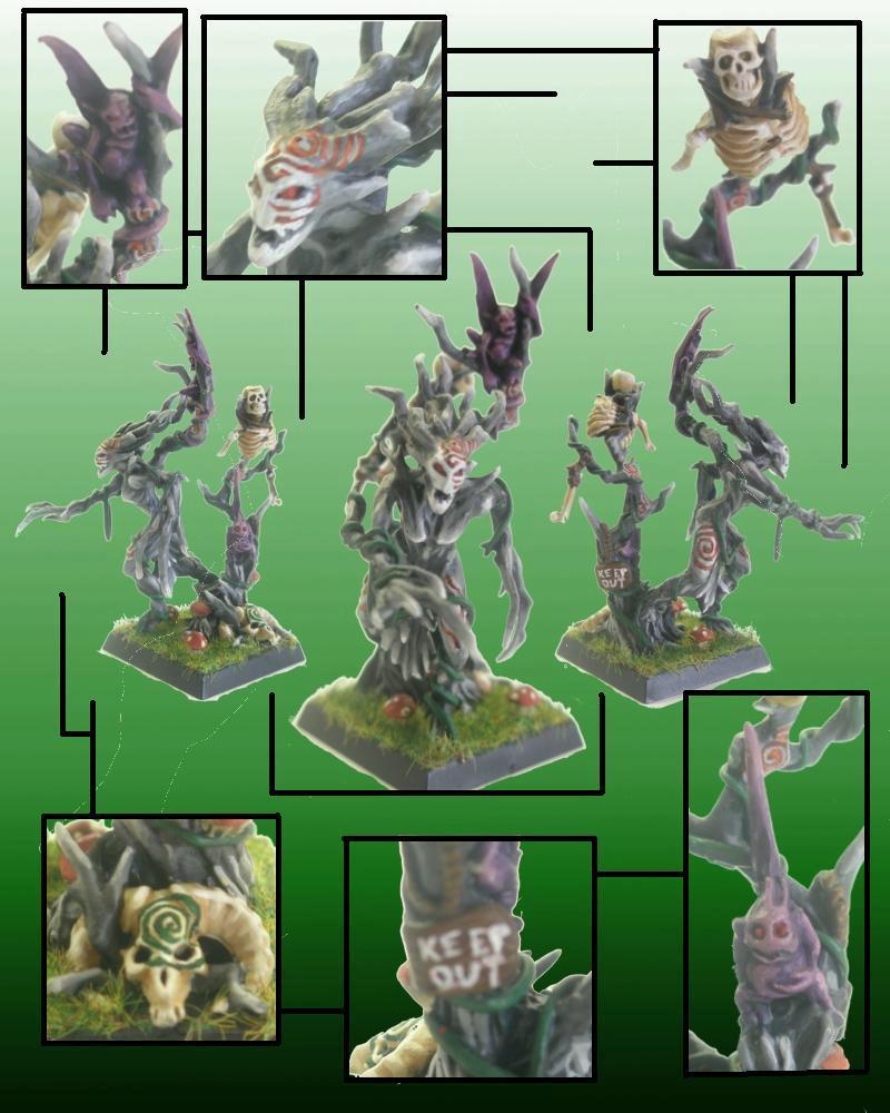 Bump In The Night, Dakka Painting Challenge, Dryad, Dryads, Warhammer Fantasy, Wood Elves