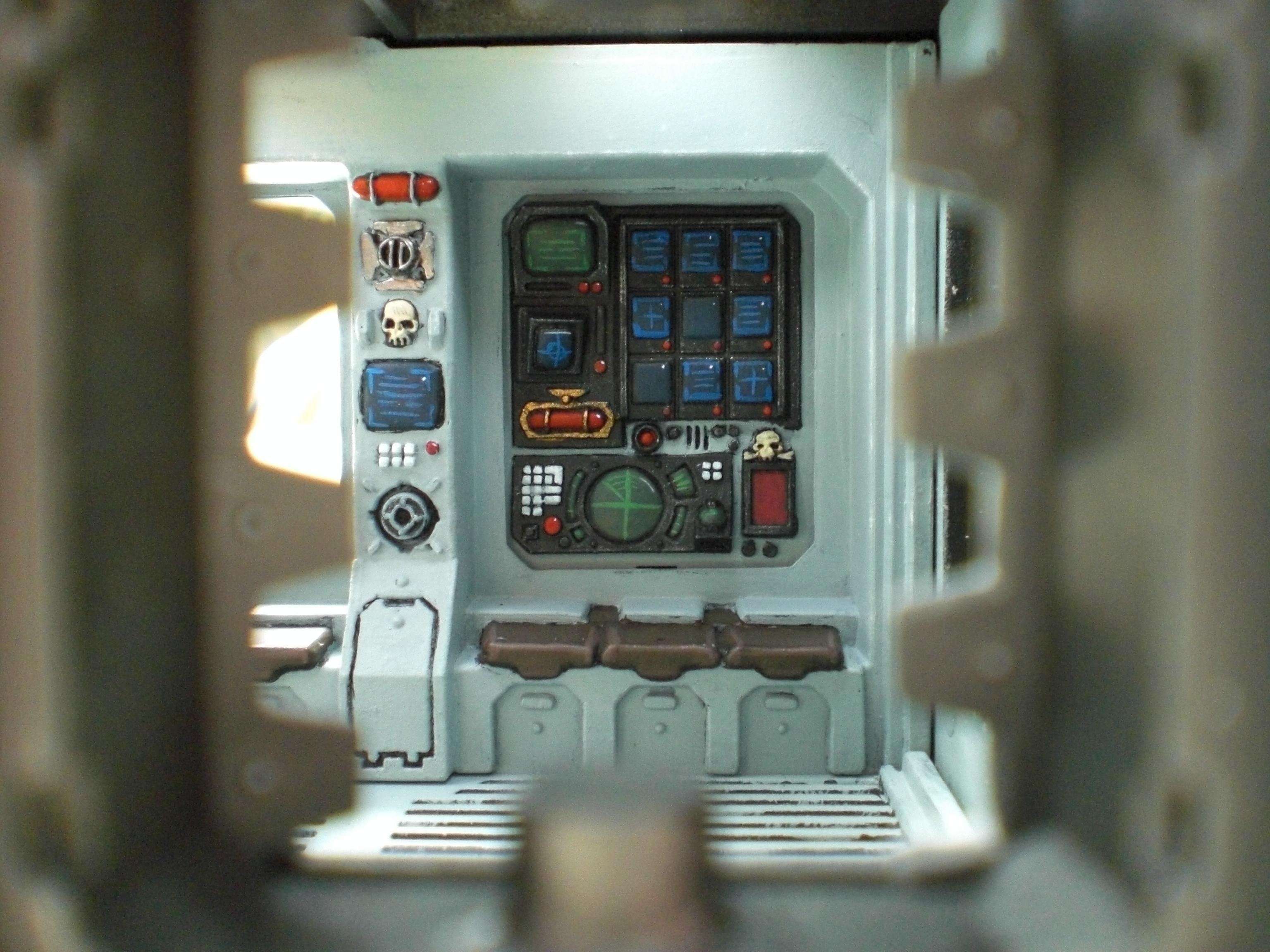Interior, Land Raider, Warhammer 40,000