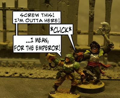 Commissar, Humor, Imperial Guard, Officer, Warhammer 40,000