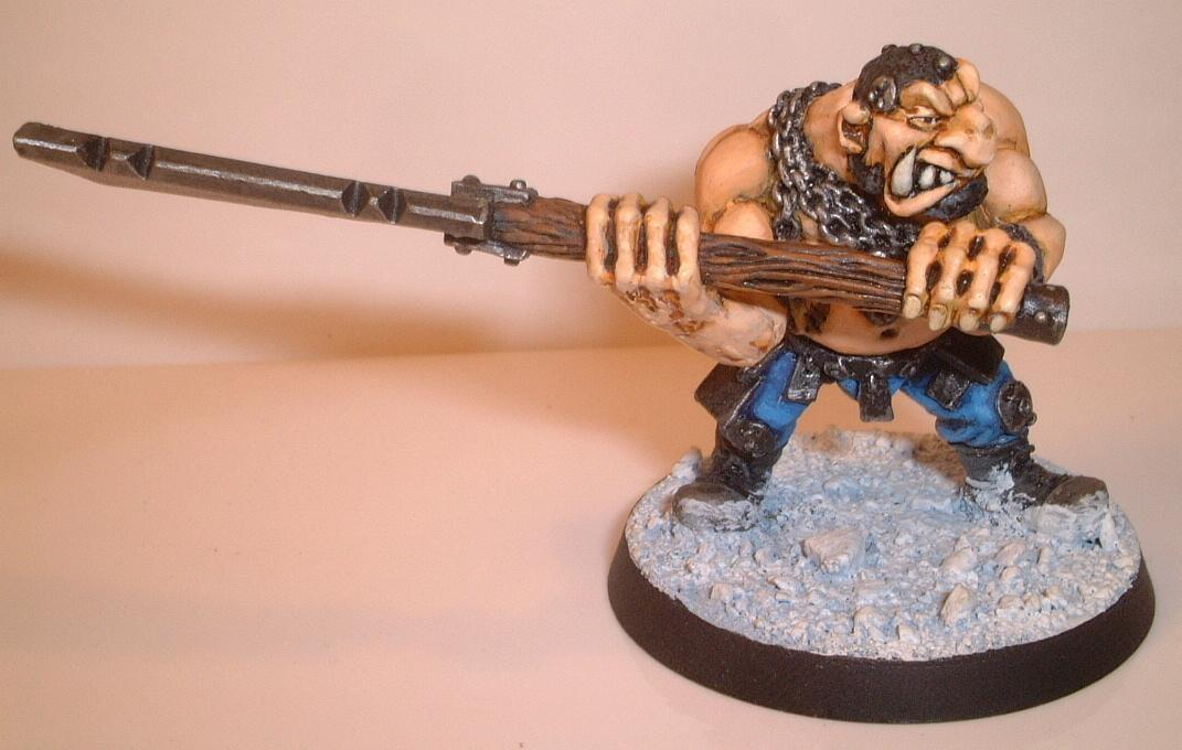 Conversion, Imperial Guard, Ogryns, Snow, Warhammer 40,000