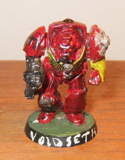 Blood Angels, First Model, Terminator Armor, Warhammer 40,000