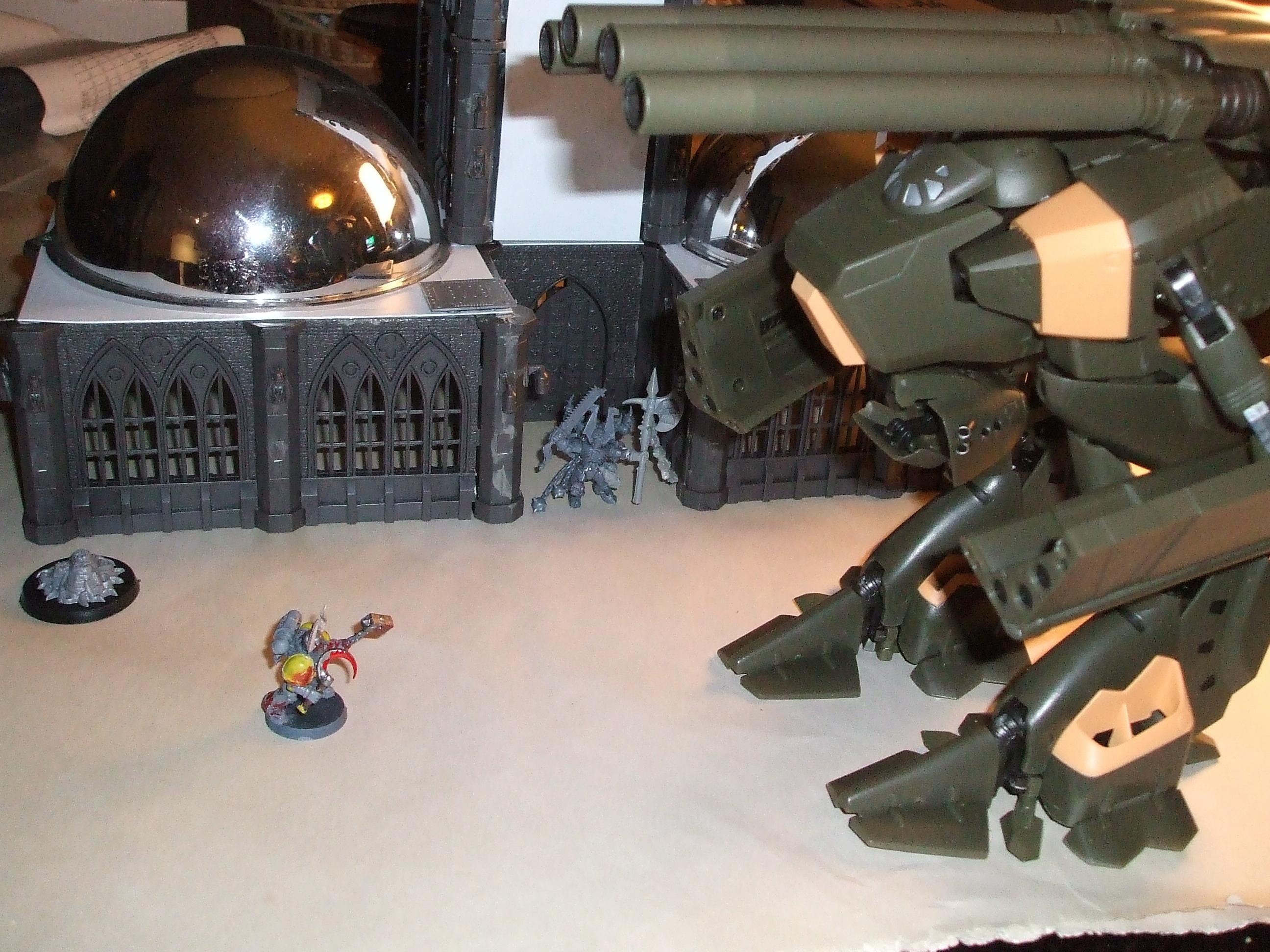 Chaos Space Marines, Destroid, Duel, Macross, Mech, Mecha, Monster, Robotech, Toy, Warhammer 40,000