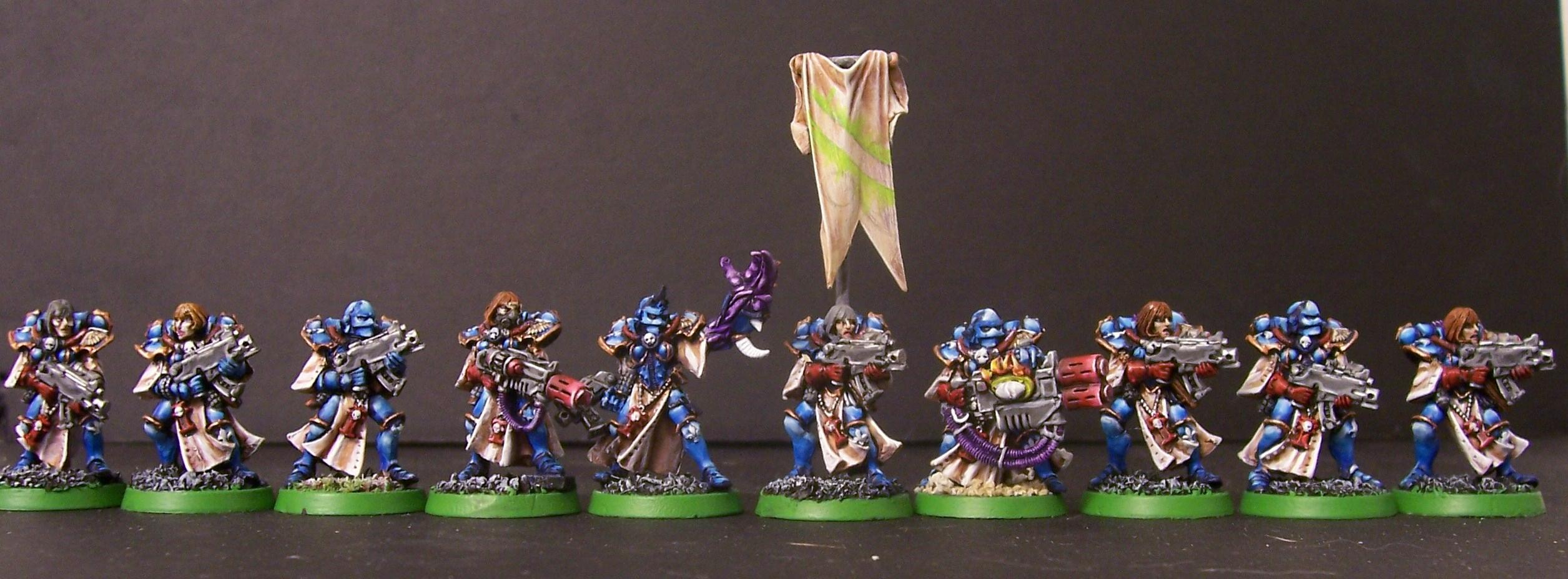 Chaos, Sisters Abuse, Sisters Of Battle, Tzeentch