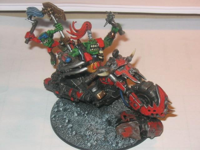 Bike, Fast Attack, Orks, Warhammer 40,000