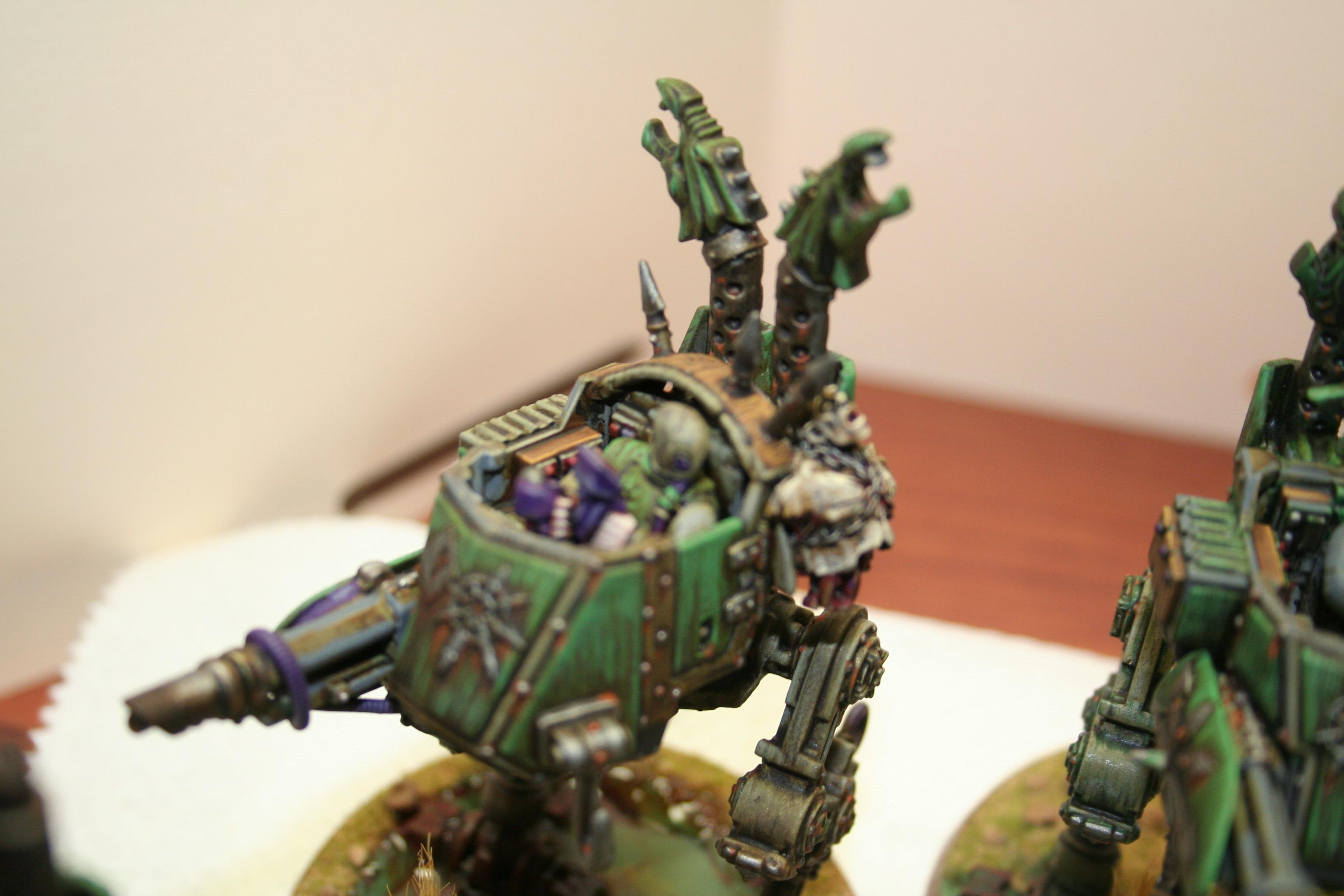 Chaos, Imperial Guard, Nurgle, Sentinel, Traitor, Warhammer 40,000