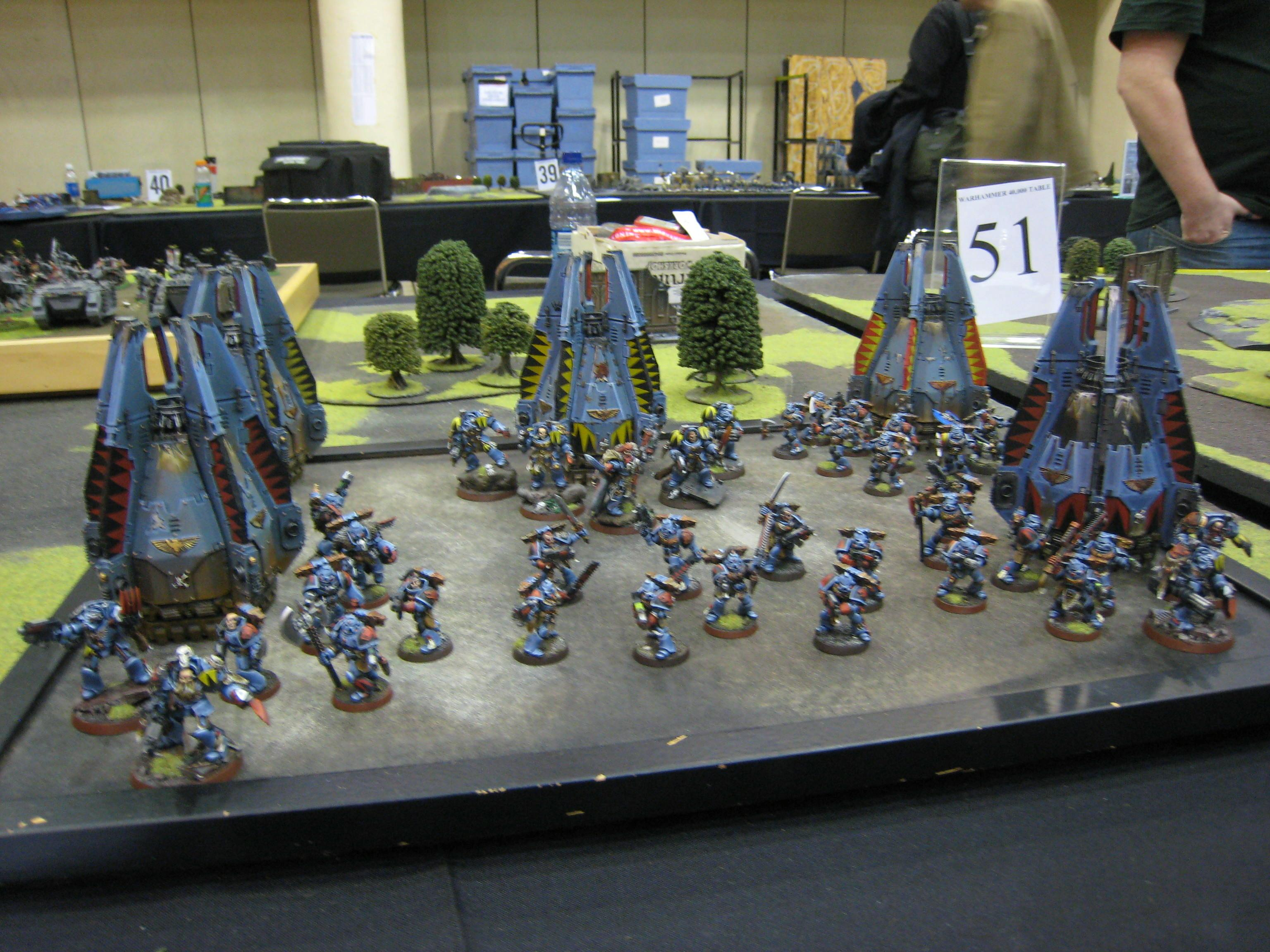 Army, Drop Pod, Grand Tournament, Space Wolves, Warhammer 40,000