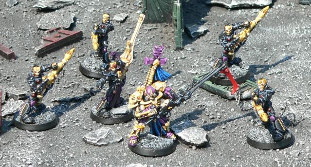 Dark Reapers, Eldar, Maugan Ra, Urban Base, Warhammer 40,000