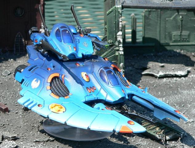 Eldar, Falcon, Urban Base, Warhammer 40,000