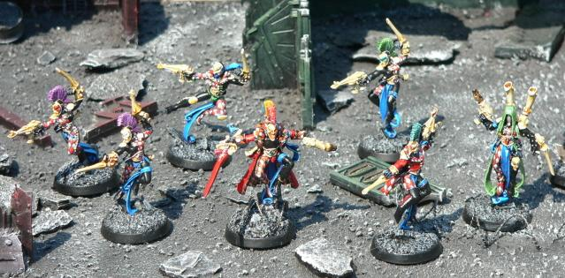 Eldar, Harlequins, Urban Base, Warhammer 40,000
