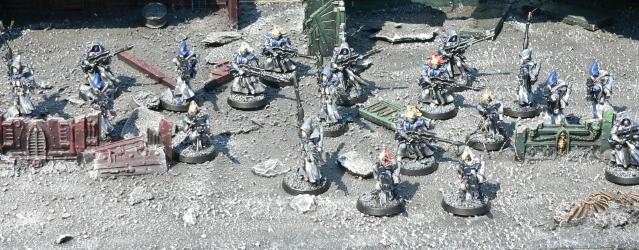 Eldar, Pathfinders, Rangers, Urban Base, Warhammer 40,000