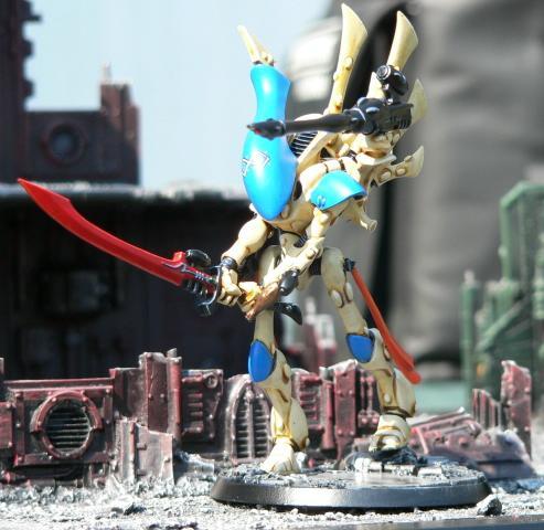 Eldar, Urban Base, Warhammer 40,000, Wraithlord