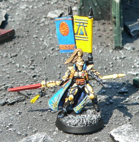 Eldar, Iyanden, Prince Yriel, Urban Base, Warhammer 40,000