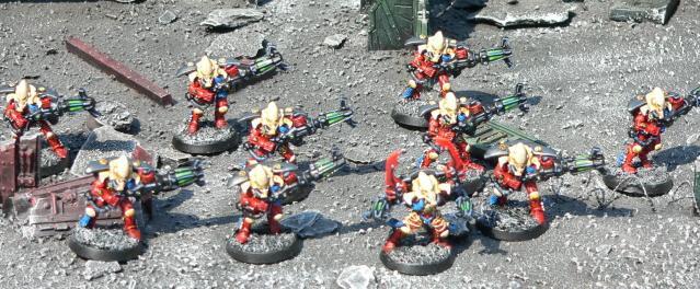 Eldar, Urban Base, Warhammer 40,000, Warp Spiders
