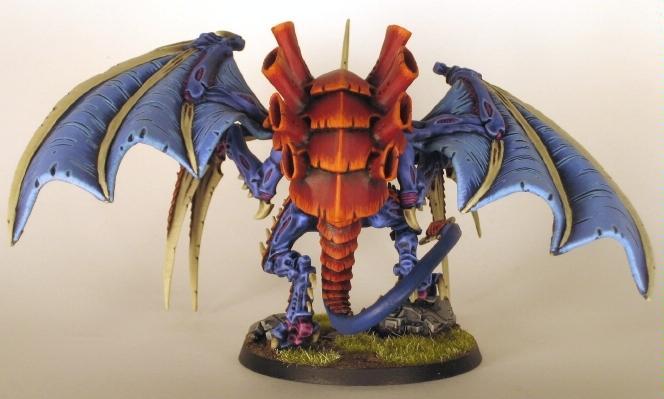 Conversion, Hive Tyrant, Tyranids, Warhammer 40,000, Winged